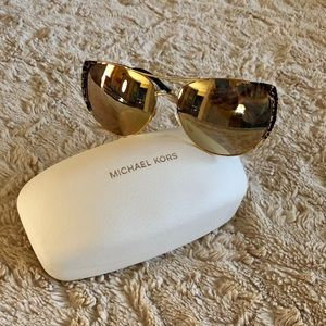 Michael Kors Mirrored Sunglasses